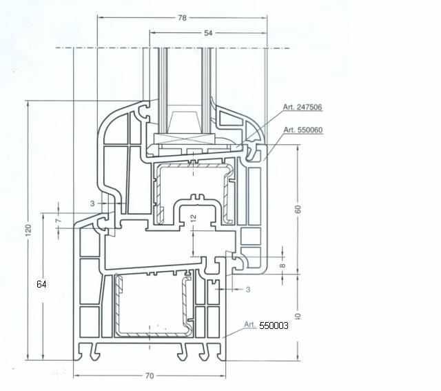 Infissi rehau profil system line - Finestre in pvc romania ...